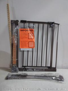 "North States 38.5"" Wide Easy-Close Baby Gate: The Multi-Directional Swing Gate with Triple Locking System (online $69)"