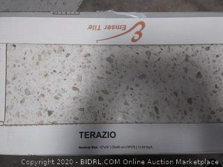 Emser TERAZIO 6-Pack Bianco 12-in x 24-in Porcelain Tile (Common: 12-in x 24-in; Actual: 23.62-in x 11.81-in) online $61