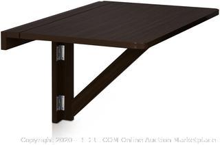 Furinno FNAJ-11019-1 Wall-Mounted Drop-Leaf Folding Table