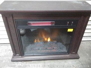 greentouch rolling mantel fireplace
