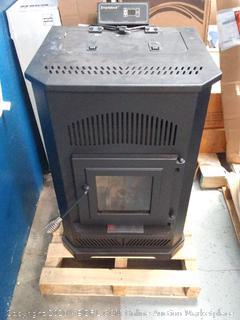 Summers Heat 2,000-sq ft Pellet Smartstove - please preview (online $1249)
