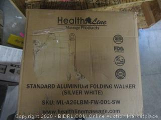 Standard Aluminum Folding Walker