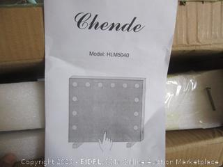 Chende MAkeup Mirror (no power but not cracked or anything)