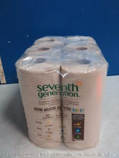 Seventh Generation Jumbo Unbleached Recycled Paper Towels