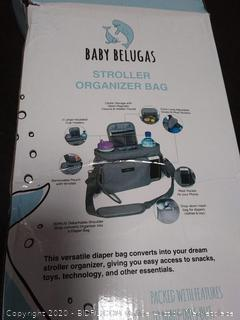 Baby belugas | Baby Stroller Organizer with Insulated Cup Holders
