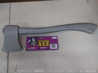 "Silver 24"" Axe Tin Man Costume Accessory 2' Prop Wizard of Oz"