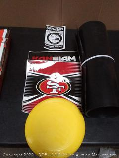 NFL can jam flying disc Team game 49ers