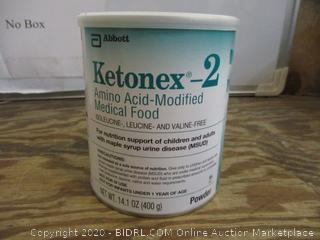 Abbot Ketomex-2 Amino Acid-Modified Medical Food
