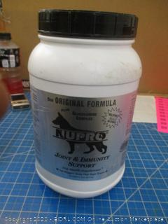 Nupro Joint Supplement for dogs