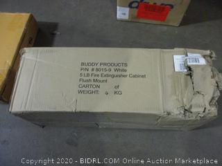 Buddy  Products 5 LB Fire Extinguisher Cabinet