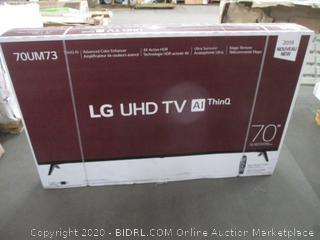 """LG UHD TV 70"""""""