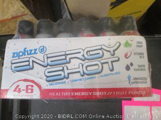 Zipfizz Energy Shot Fruit Punch