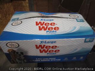 XL Wee-Wee Pads