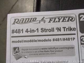 Radio Flyer 4-in-1 Stroll 'n Trike