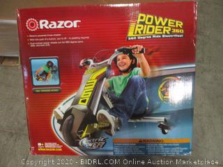 Razor Electric Three-Wheeler