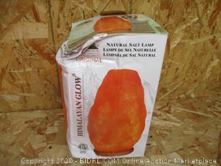 Natural Salt Lamp (Box Damage)
