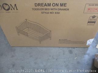 Toddler Bed w/ Drawer