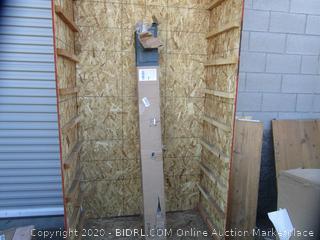 Metal Platform Bed Frame Size King (Box Damage)