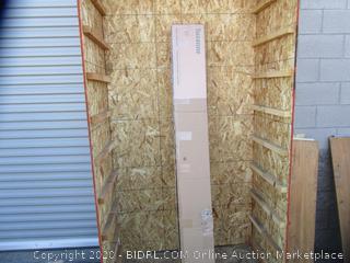 Metal & Wood Platforma Bed Frame Size Twin