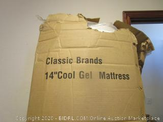 Cool Gel Mattress Topper Size King