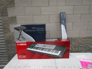 Yamaha Digital Keyboard w/ Bench and Keyboard Stand (Bundled Kit) (Sealed)