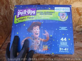 Huggies Pull-Ups Night Time 3T-4T