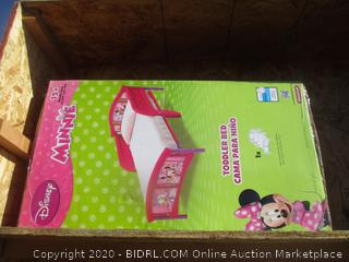 Disney Minnie Mouse Toddle Bed