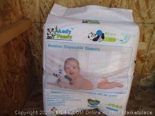 Andy Pandy Bamboo Disposable Diapers Size M