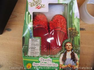 The Wizard of Oz Dorothy Sequin Child Shoes