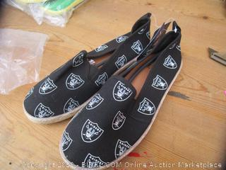 Raiders Shoes Size Large