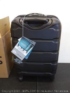 Samsonite Omni PC Hardside Luggage, Black, 20' Carry-On