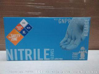 Nitrile Gloves Xtra Large (200 gloves per box)