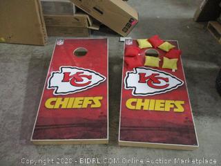 KC Chiefs   Beam Bag Toss