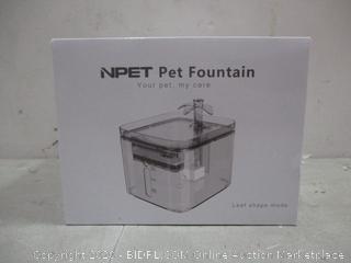 NPET Pet fountain