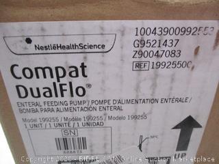 Compat DualFlo Enternal Feeding Pump