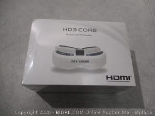 HD3 Core Modular 3D PV Headset Fat Shark HDMI
