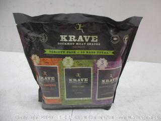Krave Gourmet Meat Snacks Variety Pack
