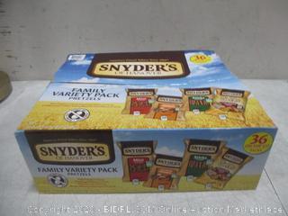 Snyder Variety Pack Pretzels