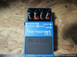 Boss PS-6 Harmonist Signal Booster