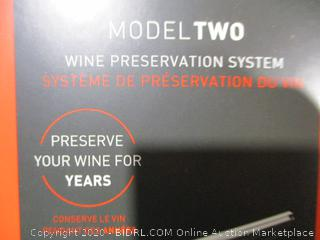 Coravin Model Two Preservation System