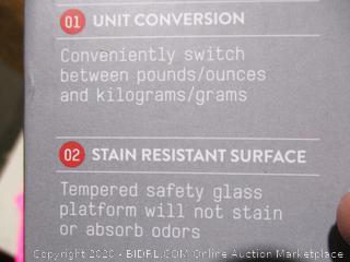 Taylor Glass Platform Digital Kitchen Scale
