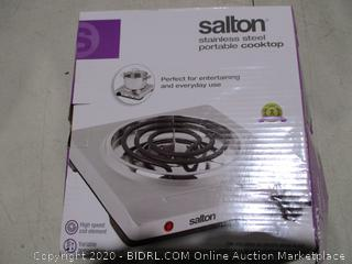 Salton Stainless Steel Portable Cooktop