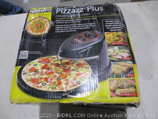 Pizza Plus rotating pizza oven