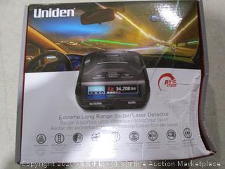 Uniden Extreme Long Range Radar /laser detector