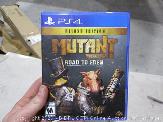 PS4  Deluxe Edition Mutant Road to Eden