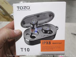 TOZO Earbuds and charging case