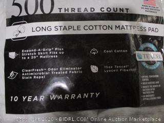 Queen Cotton Mattress Pad