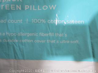 Jumbo Satin Pillow