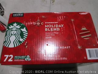 Starbucks Holiday Blend K-Cups