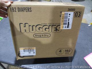 Huggies sealed